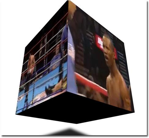 шесть роликов, на кубике